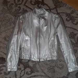 Wilson's Silver Leather Jacket